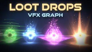 Unity VFX Graph - Loot Drop Effect Tutorial