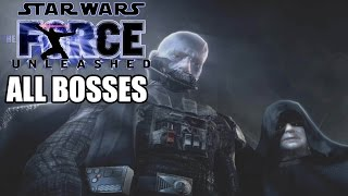 Star Wars The Force Unleashed All Bosses