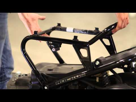 Honda Ruckus Lowered Seat Frame Install