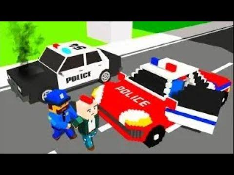 Мультик игра про машинки и город Майнкрафт Самое новое видео для малышей про машинки.