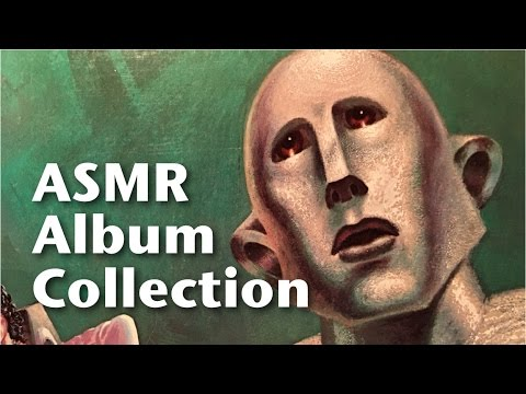 ASMR Vinyl Album Collection (soft speaking, tapping)