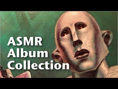 ASMR Vinyl Album Collection (soft speaking, tapping)