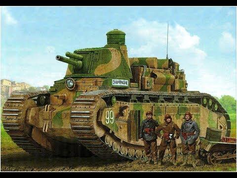 Char 2C  The World's Biggest Operational Tank