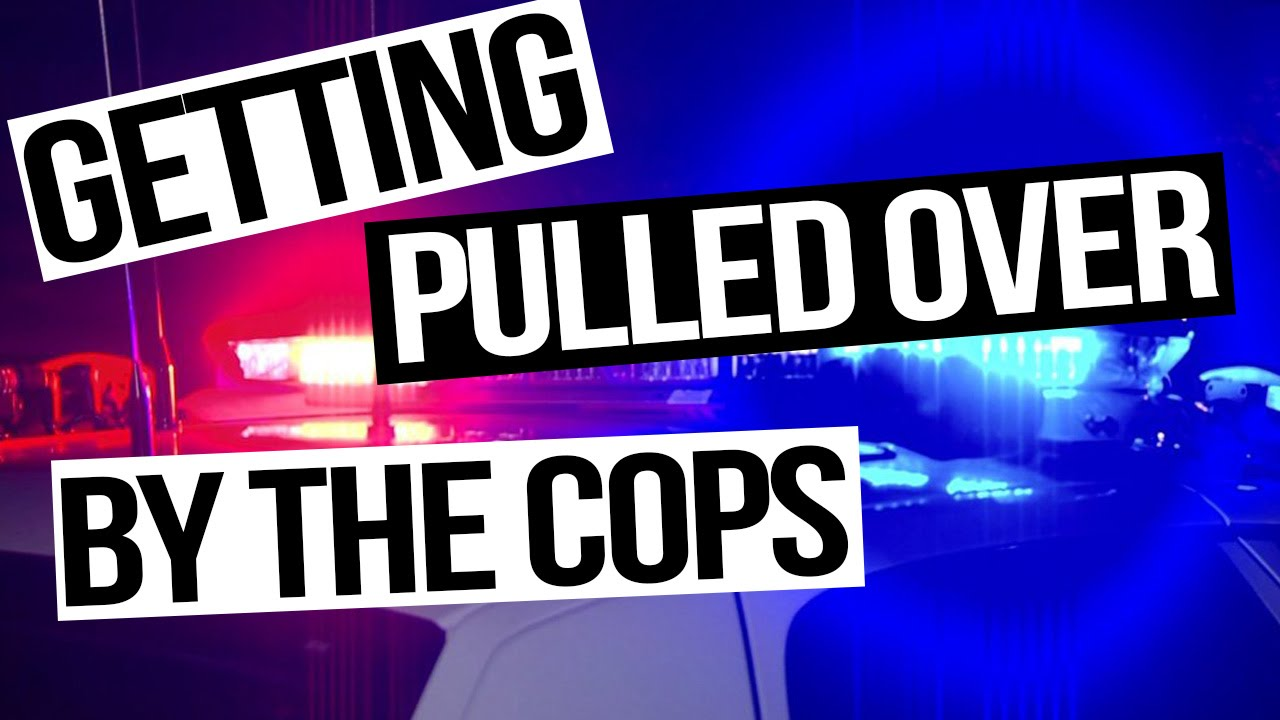 Angry People Getting Pulled Over By Cops : Getting pulled over by the cops katie vlogs youtube