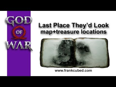 "God of War ""LAST PLACE THEY'D LOOK"" Map and Treasure Locations"