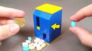 как сделать лего машину для конфет