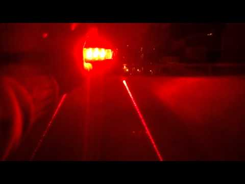 3f65e7632 Luz trasera para bici Laser - YouTube