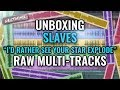 """Slaves """"I'd Rather See Your Star Explode"""" raw multi-tracks [UNBOXING]"""