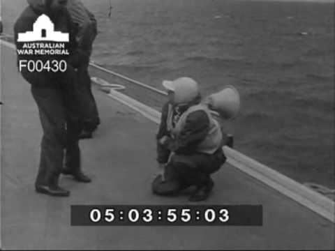 Gannets and Sea Venoms HMAS Melbourne circa 1959