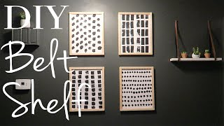 DIY Wall Shelf ~ How to Create an Easy Wall Shelf