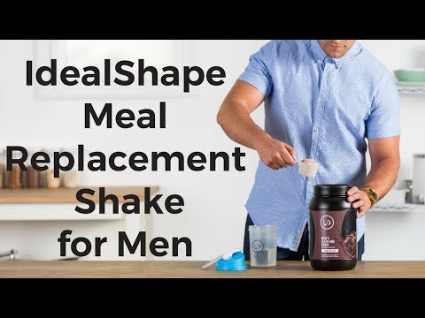 Introducing The ALL NEW Men's Meal Replacement Shake