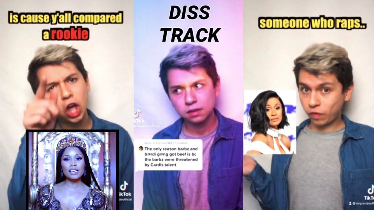 Responding to Cardi B fans in my comments.. (Diss Track)