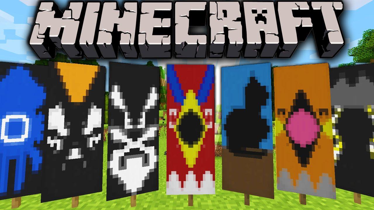 Minecraft 1.8 Snapshot: Custom Banner Designs, Easy Flag Maker ...