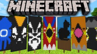 Minecraft 1.8 Snapshot: Custom Banner Designs, Easy Flag Maker Site How to Dye Over 6 Pattern Limit