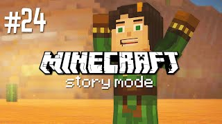 """ARE WE IN A MESA?! - MINECRAFT STORY MODE """"ACCESS DENIED"""" (EP.24)"""