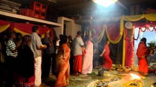 aum shakthi prayer at shri maha vishnu alayam dorries temple