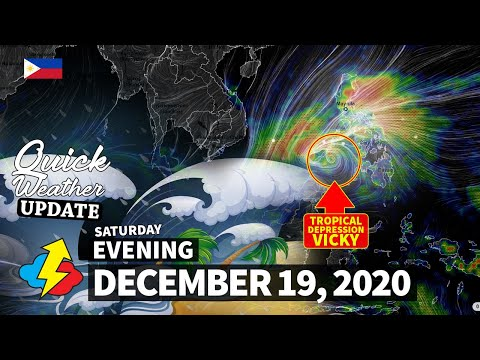 Bagyong Vicky | Weather Update Today | Weather Forecast For Today | Weather Update Philippines Today