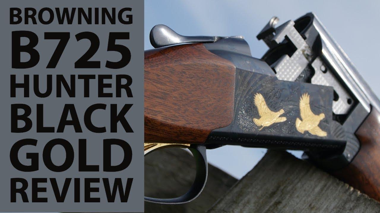Browning B725 Black Gold Shotgun Review
