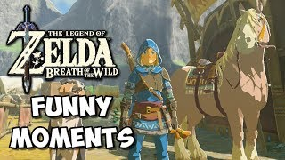 Zelda Breath of the Wild Funny Moments: Ladle Attack - Chocolate Milk Gamer