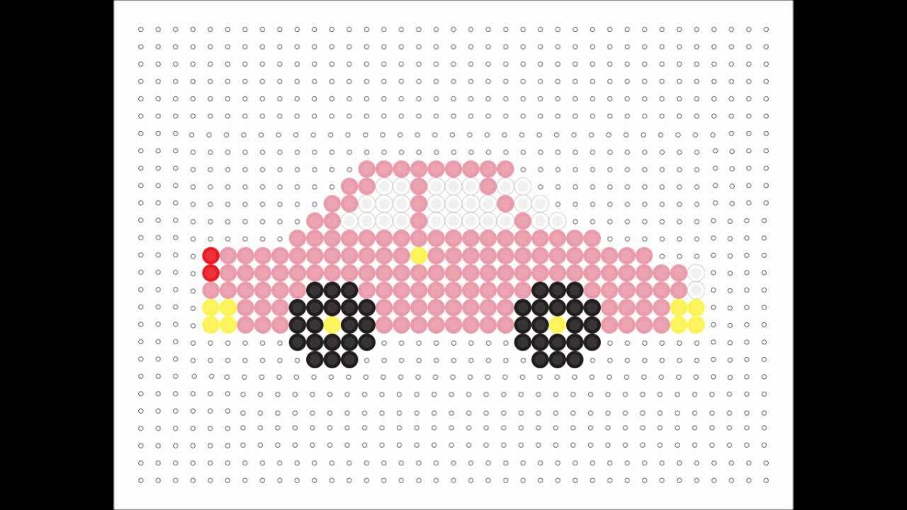 Hama Bead Pink Car Transport Series 5