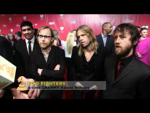 Foo Fighters at 54th Grammy Awards 2012