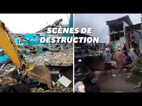 Un séisme en Indonésie fait plusieurs morts et des effondrements
