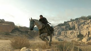 Metal Gear Solid V: The Phantom Pain - PS3 Gameplay Open-World Afghanistan (HD)