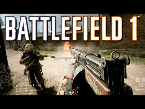 Battlefield 1: NEW Frontlines Map and Gun! (PS4 PRO Multiplayer Gameplay)