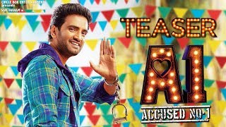 A1 Teaser Official | Accused No 1 Teaser | Announcement | Santhanam New Movie | A1 Trailer