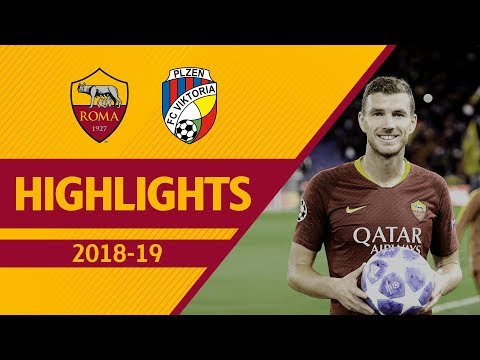 DZEKO'S PERFECT HAT-TRICK! Roma 5-0 Viktoria Plzen, UCL 2018-19 Highlights