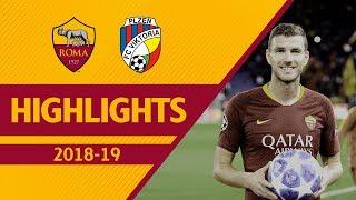 DZEKO'S PERFECT HAT-TRICK! Roma 5-0 Viktoria Plzen, UCL 2018-19 Highlights