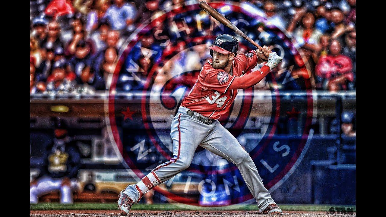 Bryce Harper Speed Edit Photoshop Topaz Labs