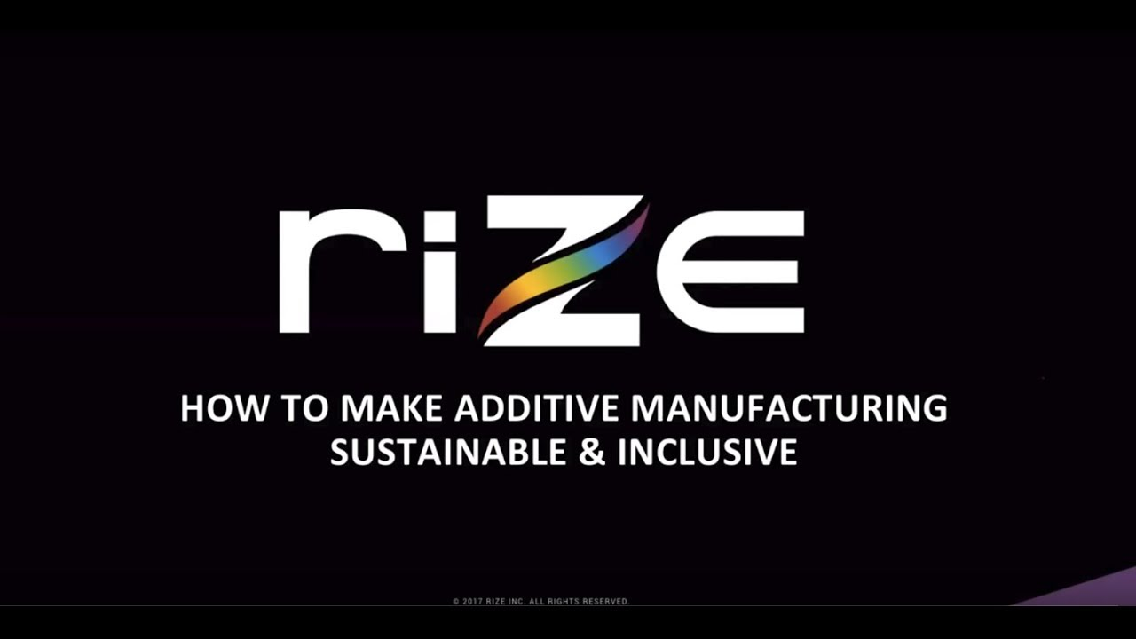 Webinar: Making Additive Mfg More Sustainable and Inclusive
