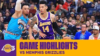 HIGHLIGHTS   Los Angeles Lakers Vs. Memphis Grizzlies