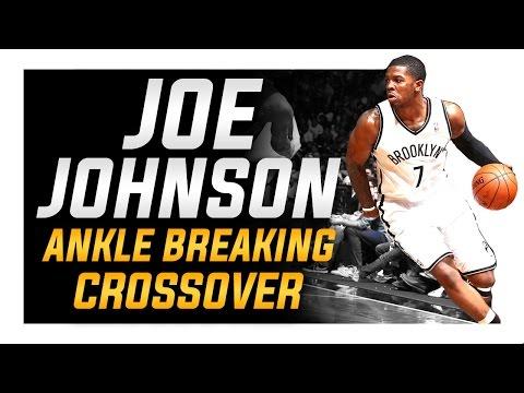 Joe Johnson Ankle Breaking Crossover: NBA Basketball Moves