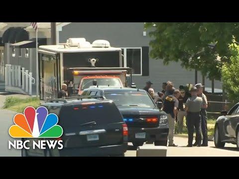 Manhunt Underway Across Three States For Murder Suspect