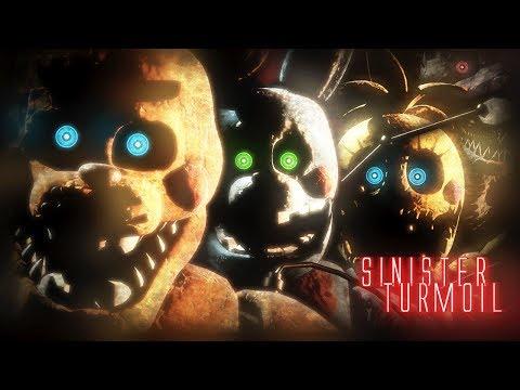 NEW SINISTER ANIMATRONICS REVEALED! || Sinister Turmoil (Five Nights at Freddys)