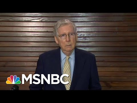 Mitch McConnell At Nexus Of Increased Russian Leverage On U.S. | Rachel Maddow | MSNBC