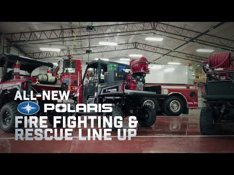 Introducing The All-New Polaris® Fire-Fighting And Rescue Vehicles | Polaris Government & Defense