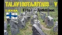 """Talavisotajutaus V Kitsi - Änäkäinen OSA 2 """"Tupa- kaappi ja siisteystarkastus"""""""