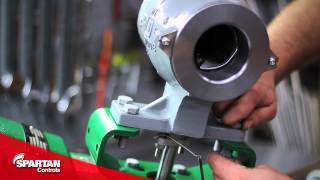 fisher valves how to change position on a fisher 2052 actuator