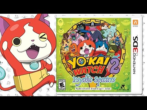 Yo-kai Watch 2: Psychic Specters - EVERYTHING YOU NEED TO KNOW!