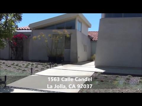 La Jolla Property Management for Rent 1563 Calle Candela