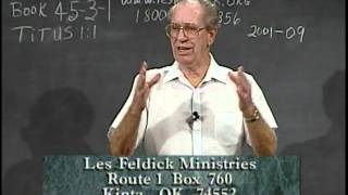 45 3 1 Through the Bible with Les Feldick  The Faithful Servant of Christ Says Goodbye: II Tim