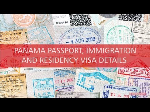 Panama visa, immigration and residency passport descriptions