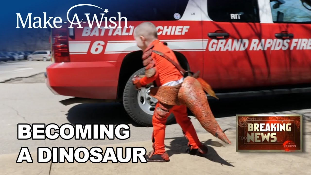 Hunter's Wish to be a Dinosaur | Make-A-Wish Michigan
