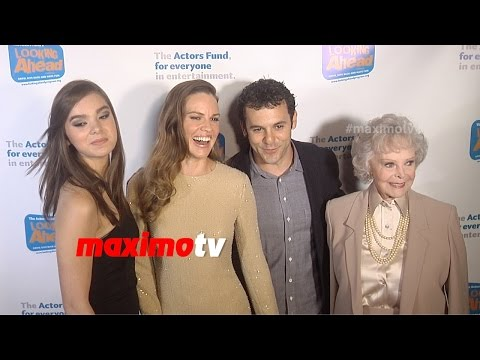 Hilary Swank, Hailee Steinfeld, Fred Savage  Looking Ahead Awards 2014