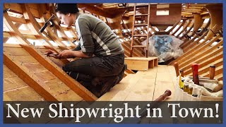 There's a New Shipwright in Town! - Episode 158 - Acorn to Arabella: Journey of a Wooden Boat
