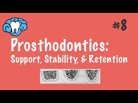 Prosthodontics | Support, Stability, & Retention | NBDE Part II