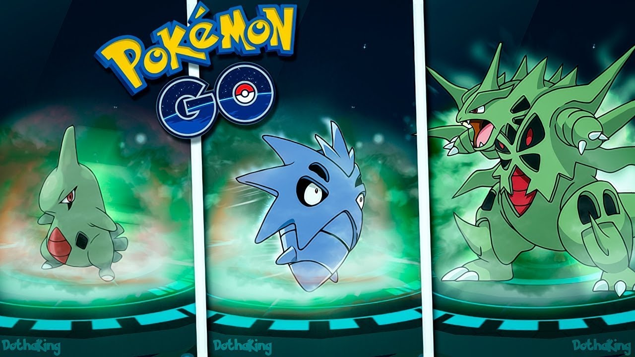 Evolución De Larvitar Pupitar Tyranitar Pokémon Go Saimon99 Youtube